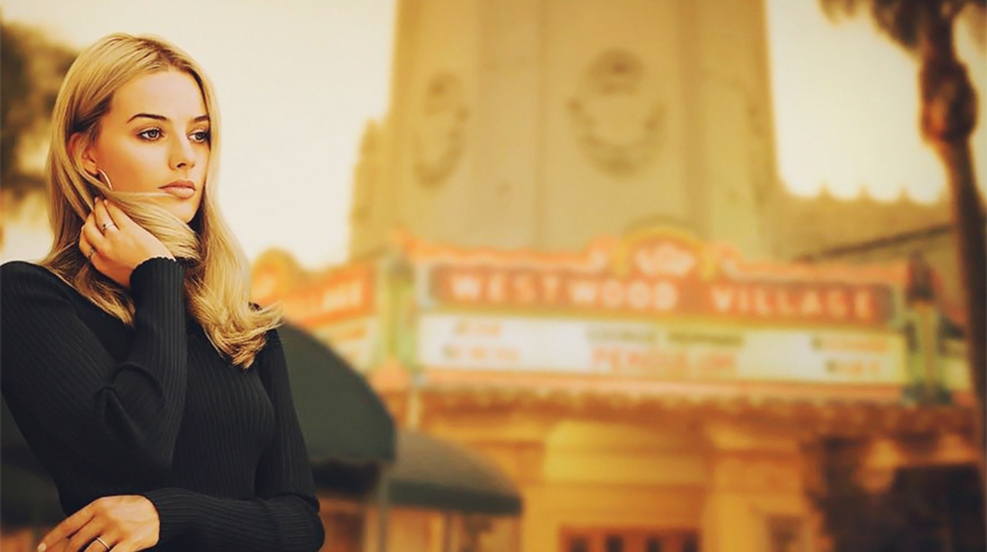 Margot Robbie como Sharon Tate en Once Upon a Time in Hollywood